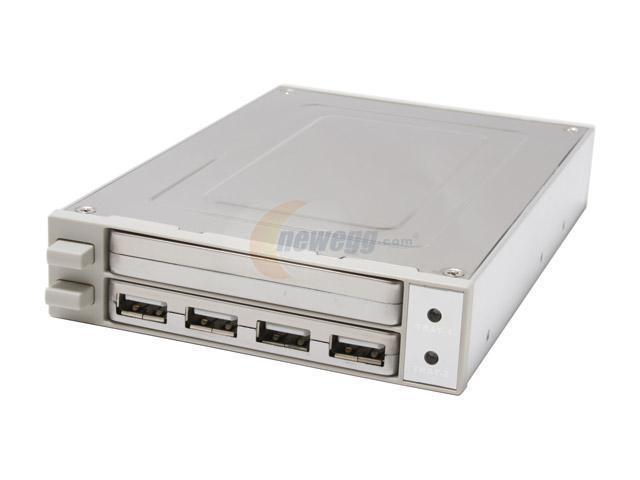 "KINGWIN KF-25 Aluminum & Stainless steel 2.5"" Notebook H.D.D. USB 2.0 2.5"" Mobile Data Dock"