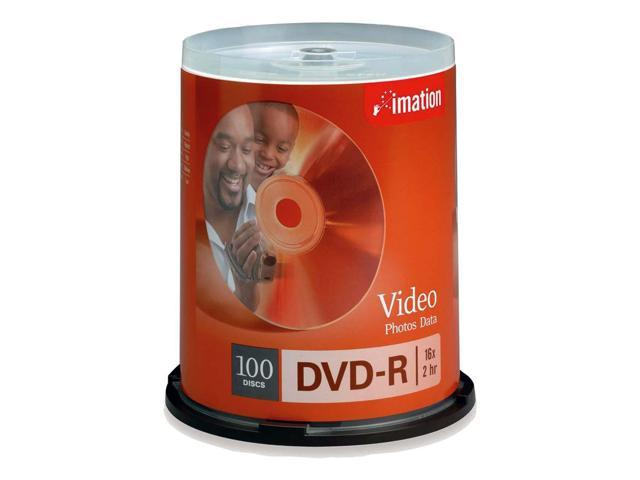 imation 4.7GB 16X DVD-R 100 Packs Disc Model 18059