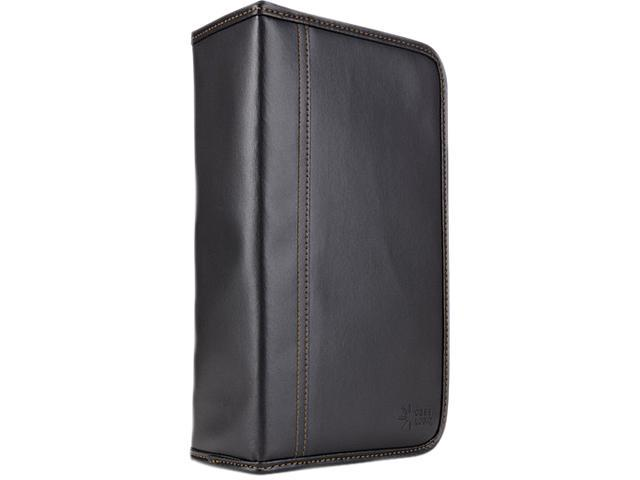 Case Logic KSW-92 CD Wallet Koskin Black Holds Up To 92 CDs