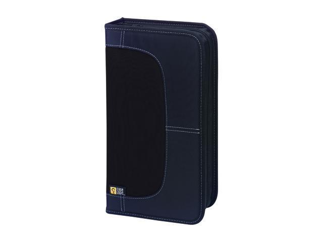Case Logic CDW-64 CD WALLET NYLON BLACK HOLD UP TO 64 CDS