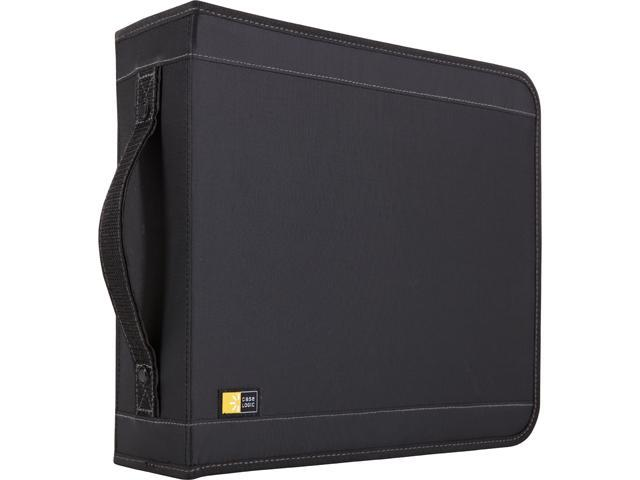Case Logic CDW-208 CD WALLET NYLON BLACK HOLD UP TO 208 CDS