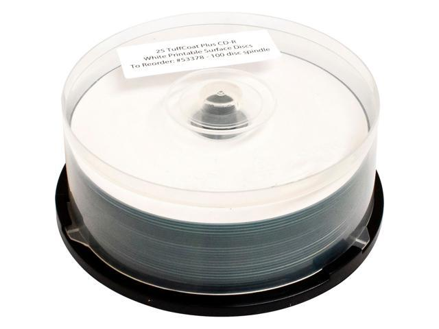 PRIMERA 700MB 48X CD-R White Printable Surface 100 Packs Disc Model 53378