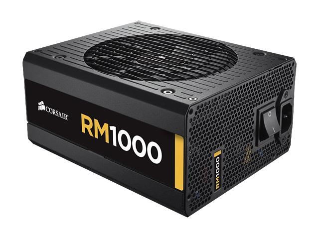 CORSAIR RM Series RM750 750W ATX12V v2.31 and EPS 2.92 80 PLUS GOLD Certified Full Modular Active PFC Power Supply