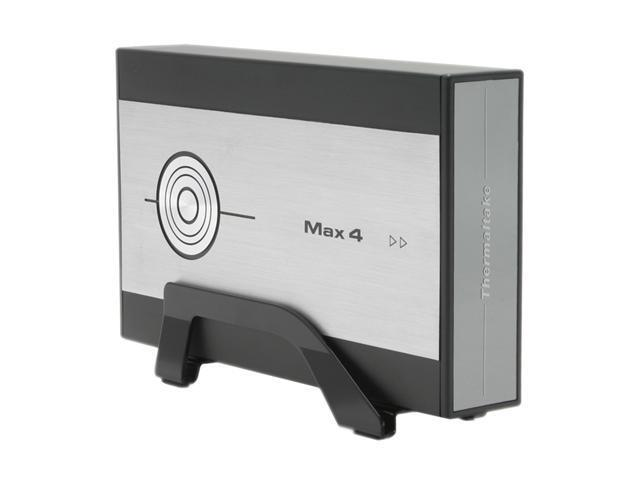 "Thermaltake MAX4 A2295 3.5"" USB2.0 Aluminum External Enclosure"