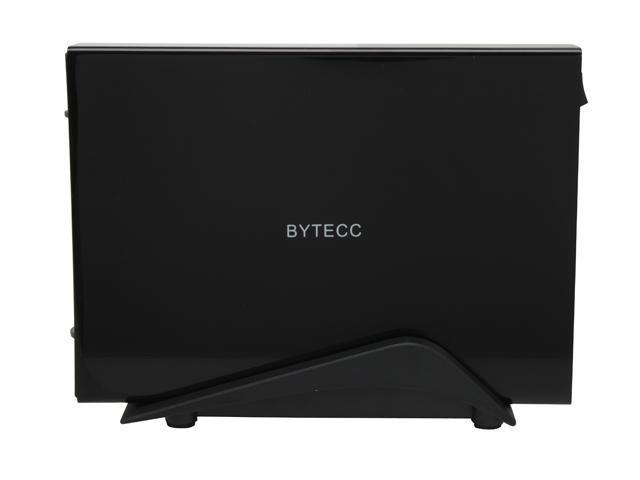 "BYTECC ME-300SU-BK Aluminum 3.5"" Black USB 2.0 Easy-Open Enclosure"