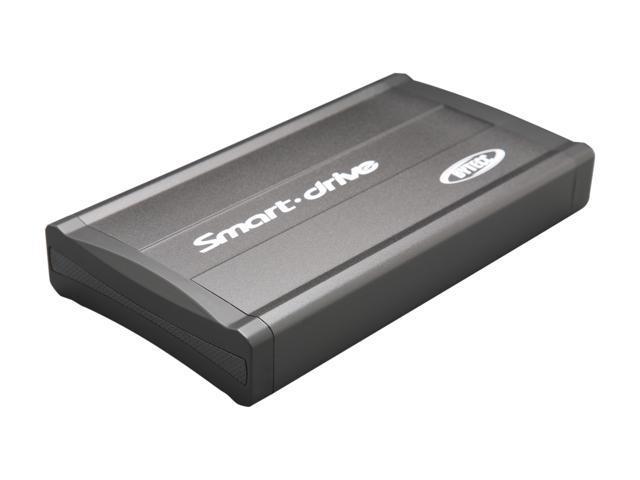 "BYTECC ME350V4-ISA-BK Aluminum 3.5"" Black IDE / SATA USB 2.0 External Enclosure"