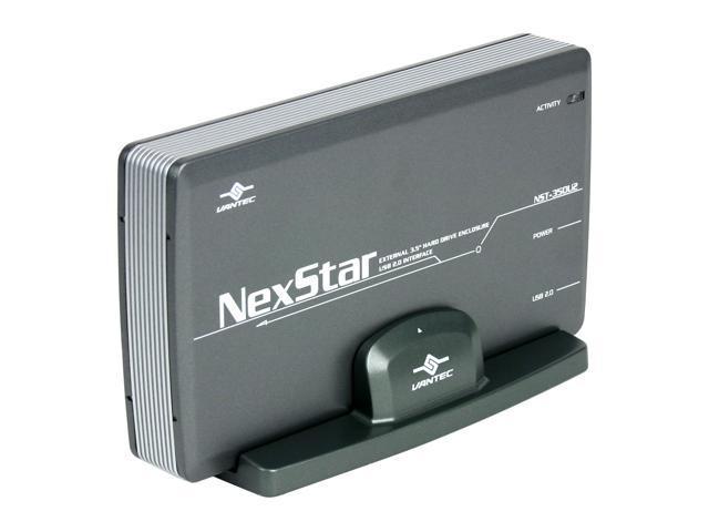 """VANTEC NexStar NST-350U2 Aluminum Alloy 3.5"""" USB 2.0 External Enclosure"""