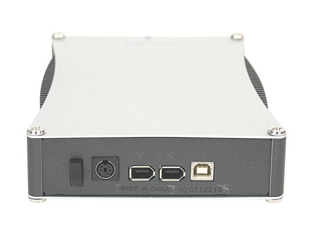 "Mapower KC31C1 Aluminum 3.5"" USB 2.0 & 1394 External Enclosure"