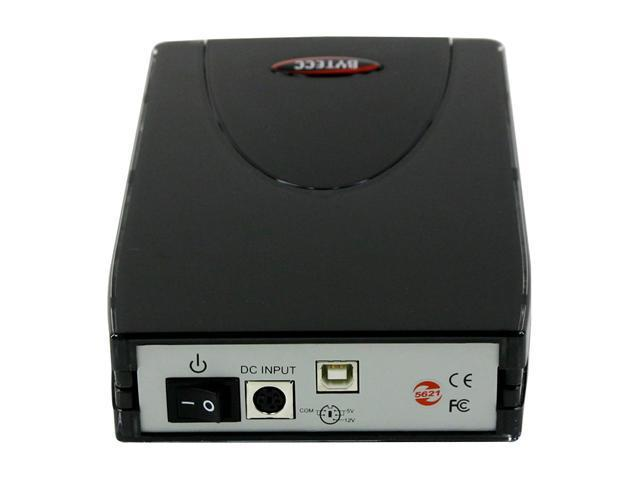 "BYTECC ME-720U2B 3.5"" USB 2.0 Black External Enclosure"