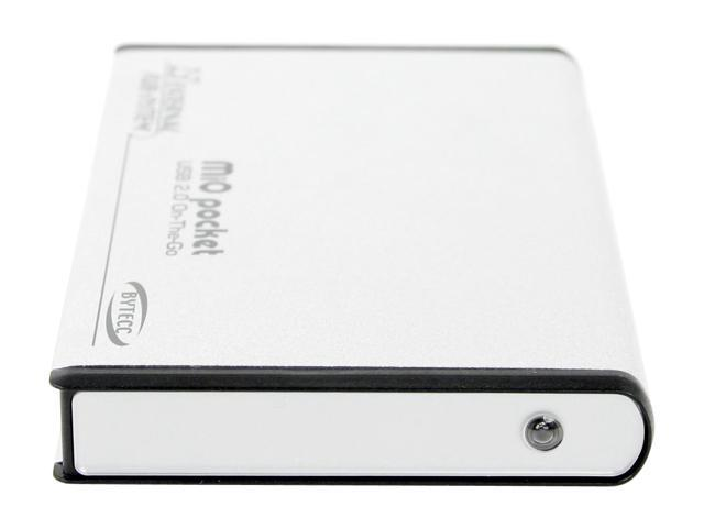 "BYTECC On-The-Go OTG-940 Aluminum 2.5"" USB 2.0 External Enclosure"