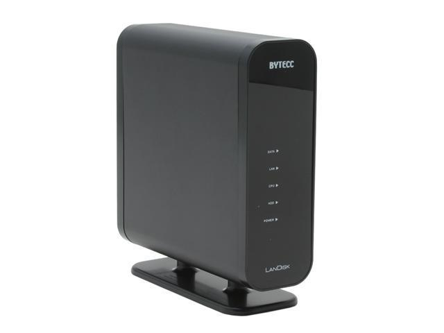 "BYTECC ME-850 Aluminum 3.5"" Ethernet External Enclosure ( Share and store data through LAN )"