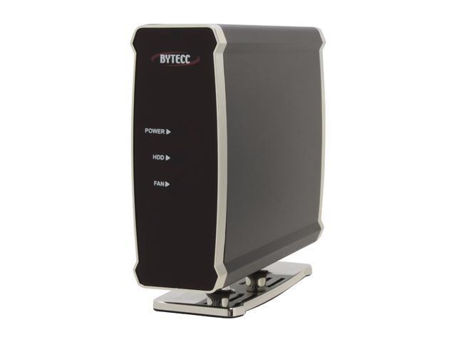 "BYTECC ME-835U2F (BLACK) Aluminum 3.5"" Black USB & 1394 External Enclosure"