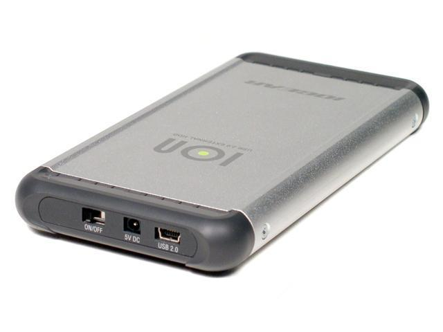 "IOGEAR GHE225U Metal 2.5"" USB 2.0 Metal External Enclosure"