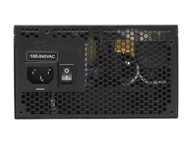 SeaSonic M12 SS-500HM 500W ATX12V V2.3 / EPS12V V2.91 SLI Certified CrossFire Ready 80 PLUS Certified Modular Active PFC Power Supply