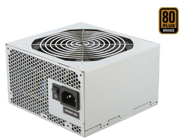 SeaSonic SS-500ET Bronze 500W ATX12V v2.31 80 PLUS BRONZE Certified Active PFC Power Supply