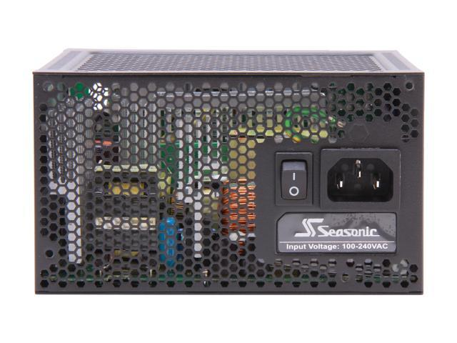 Seasonic SS-460FL Active PFC F3, 460W Fanless ATX12V Fanless 80Plus PLATINUM Certified, Modular Power Supply