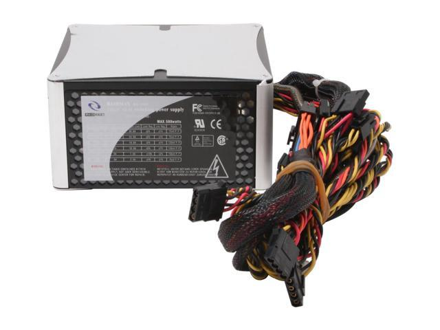 RAIDMAX AURORA RX-580F 580W ATX12V SLI Ready CrossFire Ready Power Supply