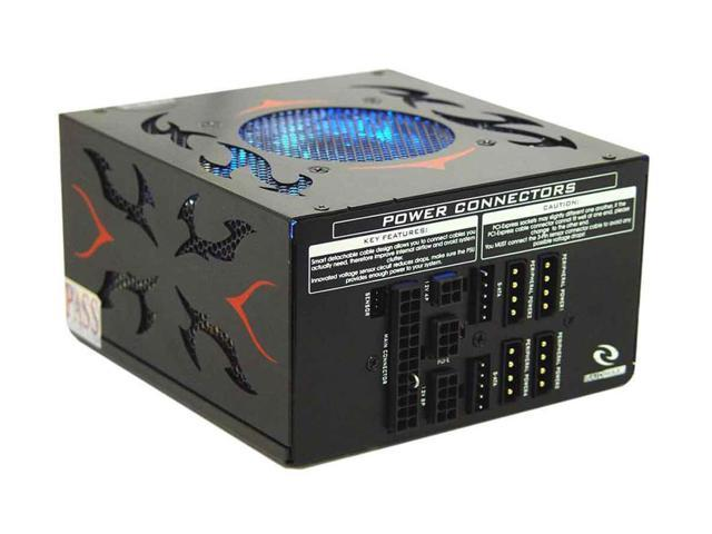 RAIDMAX VOLCANO RX-630A 630W ATX12V V2.2/ EPS12V SLI Ready CrossFire Ready Full Modular Modular LED Power Supply