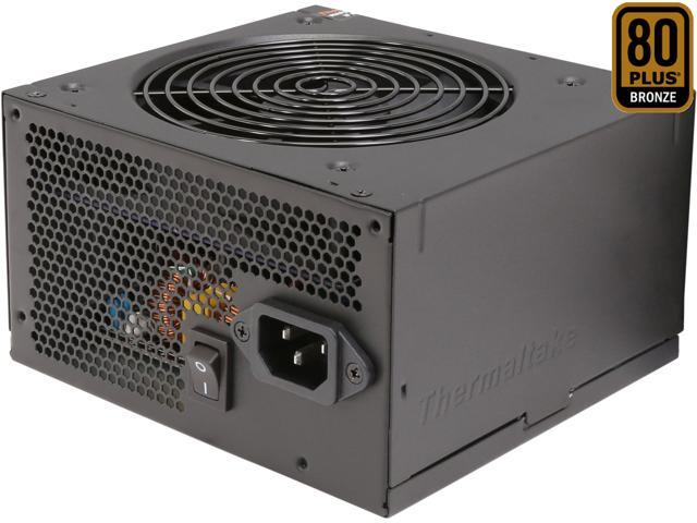 Thermaltake TR2 Bronze 450W ATX12V v2.31 / EPS v2.92 80 PLUS BRONZE Certified 5 Year Warranty Active PFC Power Supply Haswell Ready PS-TR2-0450NPCBUS-B