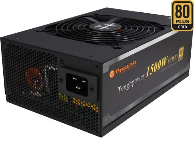 Thermaltake Toughpower PS-TPD-1500MPCGUS-1 1500W ATX12V / EPS12V SLI Ready CrossFire Ready 80 PLUS GOLD Certified Modular Active PFC Power Supply