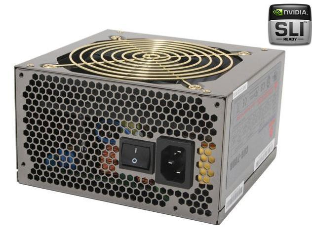 COOLMAX CUG-700B 700W ATX12V v2.3 SLI Certified / CrossFire Ready Modular Active PFC and Compatible with Core i3/i5/i7 Power Supply