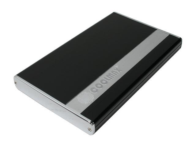 "COOLMAX HD-250B-U2 Aluminum 2.5"" USB 2.0 External Enclosure"