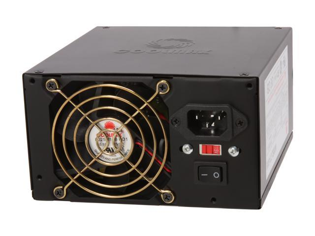 COOLMAX CTI-500B 500W ATX 12V v2.2 and Compatible with Core i3/i5/i7 Power Supply
