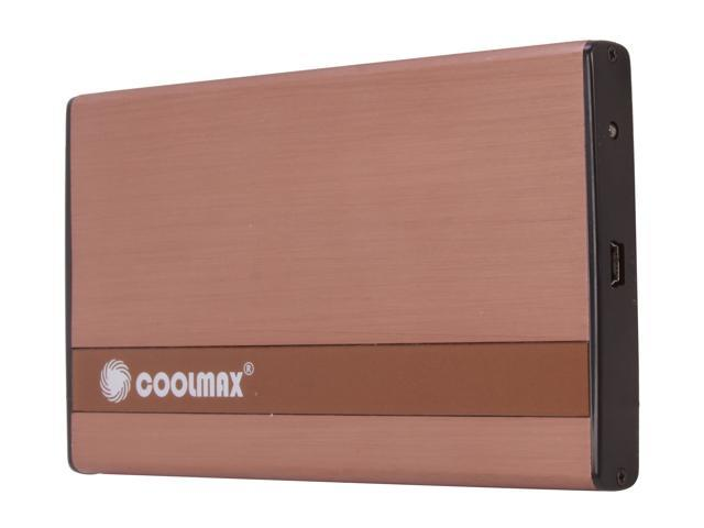 COOLMAX HD-250BZ-U2 Copper External Enclosure