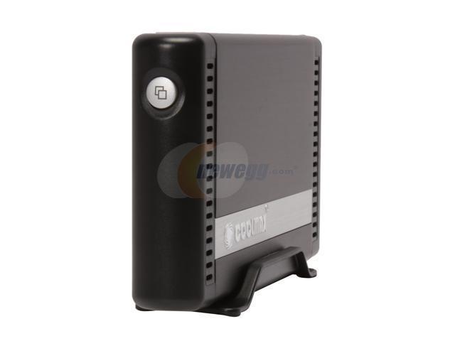 COOLMAX HD-381BK-U2 Black OTB Function External Enclosure