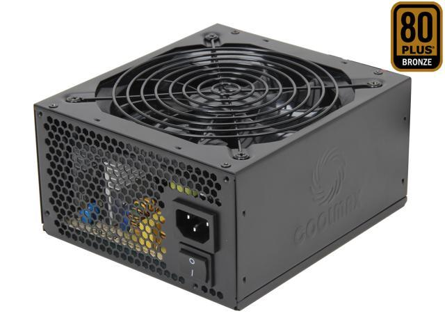 COOLMAX ZU Series ZU-500B 500W ATX12V v2.31 / EPS12V v2.91 SLI Ready CrossFire Ready 80 PLUS BRONZE Certified Modular Active PFC Power Supply