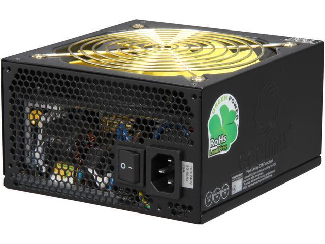 COOLMAX ZPG Series ZPG-1200B (14640) 1200W ATX12V v2.3 / EPS12V v2.92 80 PLUS GOLD Certified Modular Active PFC Power Supply