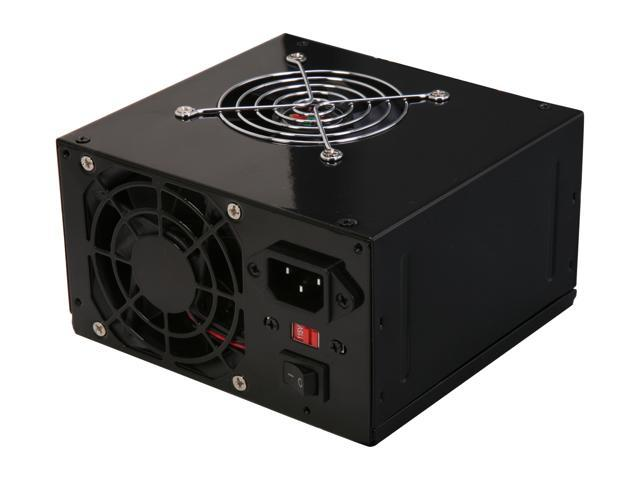 LOGISYS Computer PS550ABK 550Watts ATX12V Power Supply With SATA and 20/24 Pin connectors.
