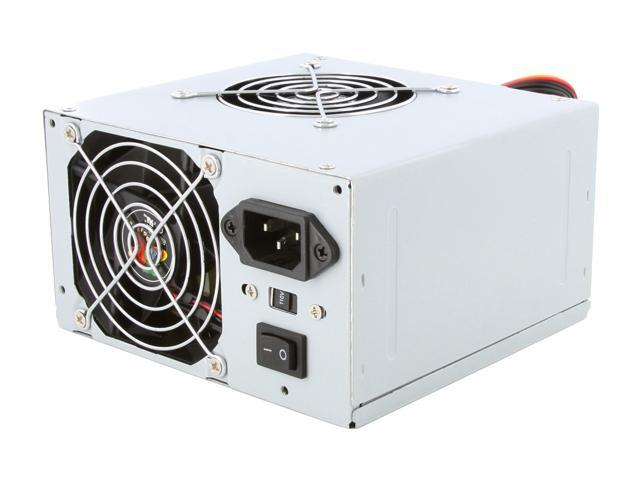 LOGISYS Computer PS480X2 480W Power Supply Dual Fan w/ Radiation Filter