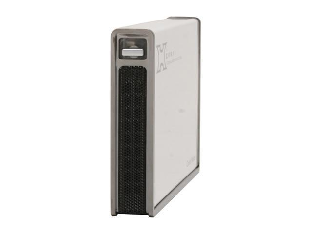 "COOLER MASTER RX-250-U2WN-GP Aluminum / Plastic / Metal 2.5"" USB 2.0 X-Craft 250 External Hard drive Enclosure"