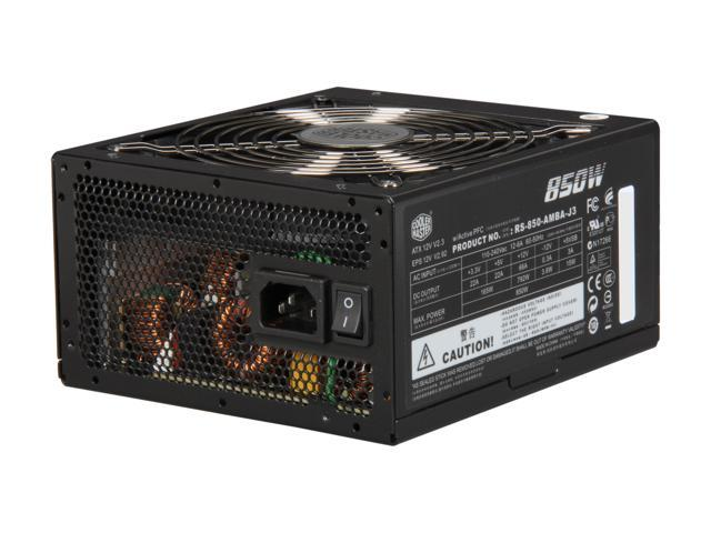 Cooler Master Silent Pro M - 850W Power Supply with 80 PLUS Bronze Certification and Semi-Modular Cables