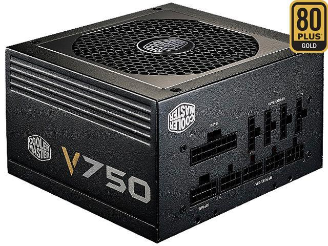 Cooler Master V Series 750W Compact Fully Modular 80 PLUS Gold Power Supply (6th Generation i5/i7 Skylake Ready)