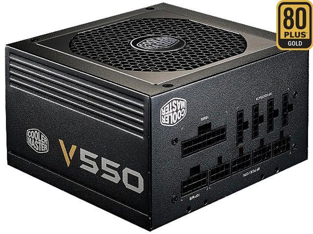Cooler Master V Series 550W Compact Fuly Modular 80 PLUS Gold Power Supply (6th Generation i5/i7 Skylake Ready)