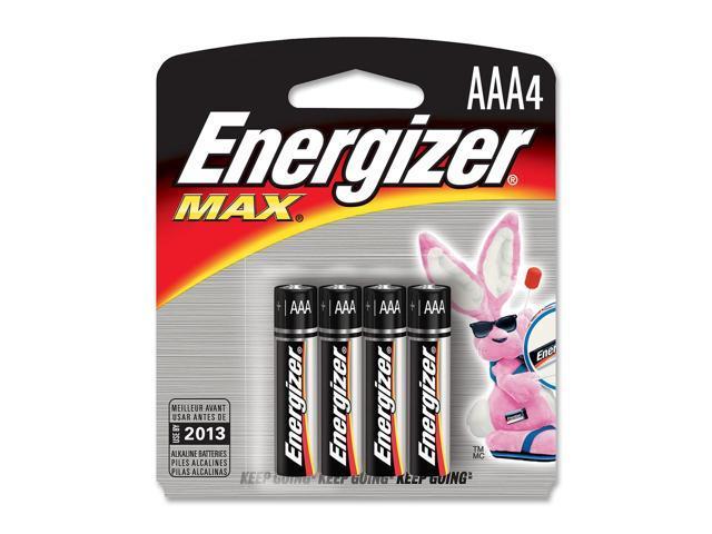 Energizer E92BP-4 4-pack AAA Alkaline Batteries