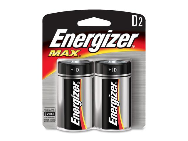 Energizer E95BP-2 2-pack D Batteries