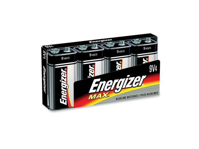 Energizer 522FP-4 4-pack 595 mAh 9V Alkaline Batteries