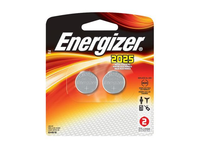 Energizer 2025BP-2 2-pack 2025 Lithium Coin Cell Batteries