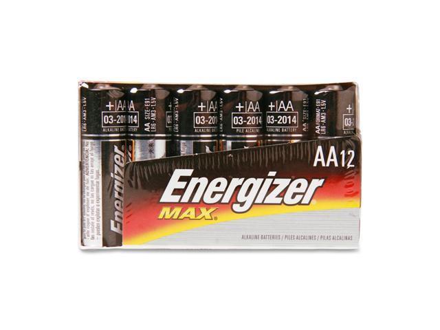 Energizer E91FP-12 12-pack AA Alkaline Batteries