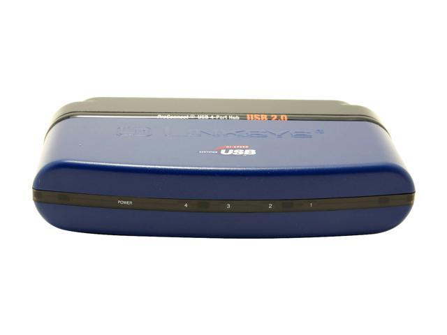 LINKSYS USB2HUB4 USB2.0 4-Port Hub