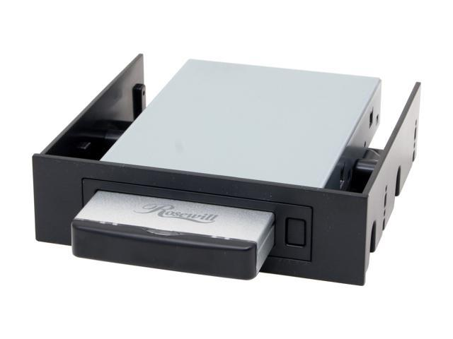 "Rosewill RX-251-US Aluminum & ABS plastic 2.5"" USB2.0 & SATA External Enclosure"
