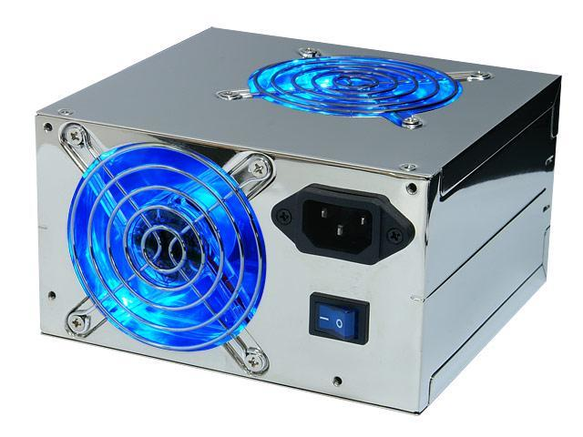 Rosewill RD600N-2DC-SL-SLV 600W ATX Form Factor 12V V2.2 / SSI standard EPS 12V SLI Ready Active PFC Active PFC Power Supply - SLI Ready