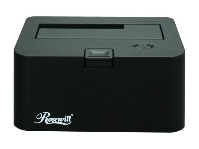 "Rosewill RX-DU100 2.5"" & 3.5"" SATA to USB2.0 Hard Drive Docking"