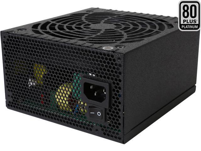 Rosewill Quark-650, Quark Series 650W Full Modular Power Supply with LED Indicator, 80 Plus Platinum Certified, Single +12V Rail, Intel 4th Gen CPU Ready, SLI & Crossfire Ready