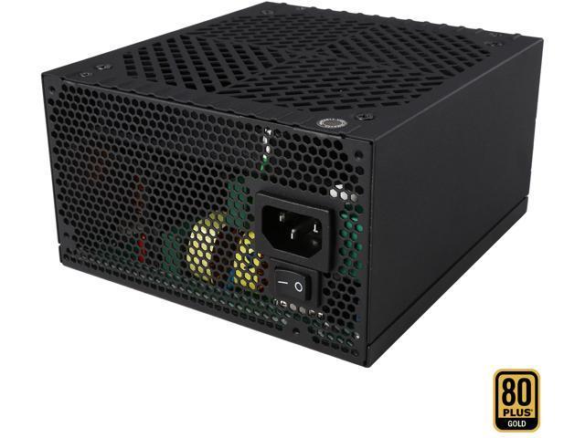 Rosewill Capstone-G550, Capstone G Series 550W Modular Power Supply, 80 PLUS Gold Certified, Single +12V Rail, SLI & Crossfire Ready