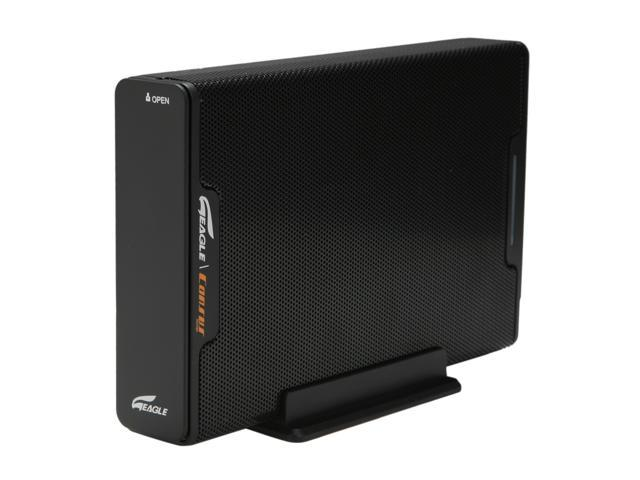 "Eagle Consus M-Series ET-CSMSU2-BK 3.5"" USB2.0 to SATA External Enclosure"