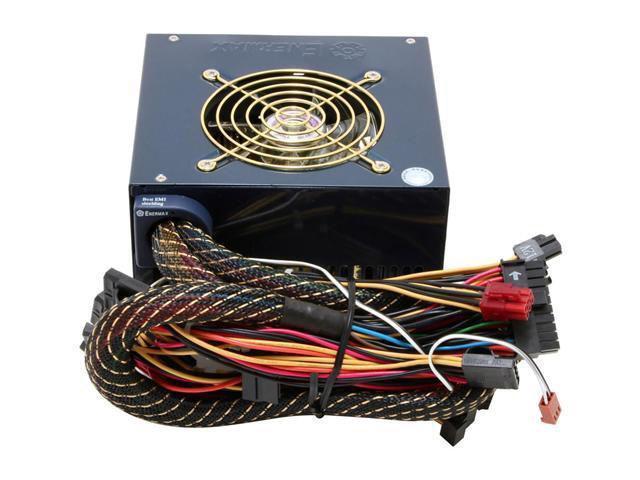 ENERMAX Noisetaker II EG701AX VE(W) SFMA 600W ATX12V Ver 2.2 SLI Certified CrossFire Ready Active PFC Power Supply
